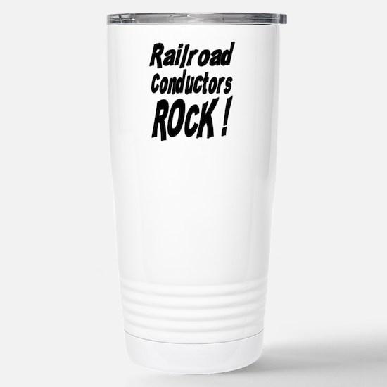 Railroad Conductors Rock ! Mugs