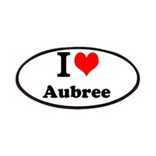 I Love Aubree Patch
