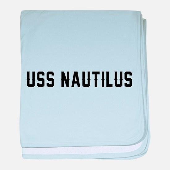 USS Nautilus baby blanket
