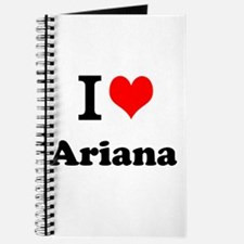 I Love Ariana Journal