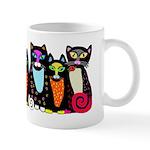 Black Cats Family Mug