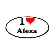 I Love Alexa Patch
