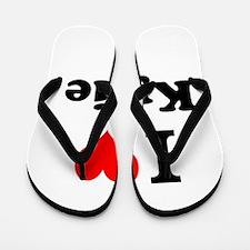 I Love Kylie Flip Flops