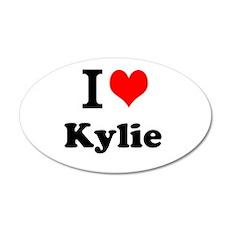 I Love Kylie Wall Decal