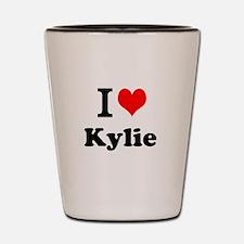 I Love Kylie Shot Glass