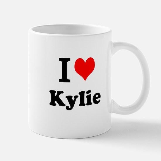 I Love Kylie Mugs
