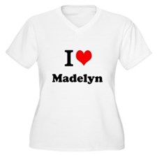 I Love Madelyn Plus Size T-Shirt