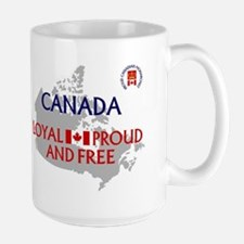 Canadian Monarchist Mug