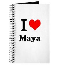 I Love Maya Journal
