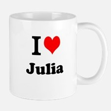 I Love Julia Mugs