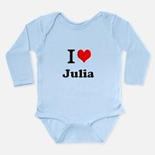 I Love Julia Body Suit
