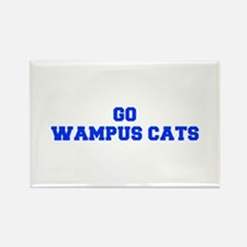 Wampus Cats-Fre blue Magnets