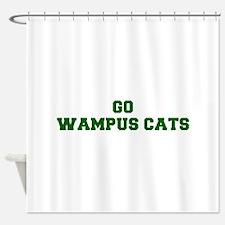 Wampus Cats-Fre dgreen Shower Curtain
