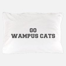 WAMPUS CATS-Fre gray Pillow Case