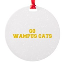 Wampus Cats-Fre yellow gold Ornament