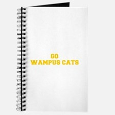Wampus Cats-Fre yellow gold Journal