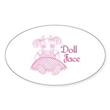Doll Face Decal
