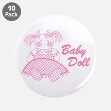 "Baby Doll 3.5"" Button (10 pack)"