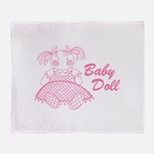 Baby Doll Throw Blanket