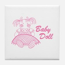 Baby Doll Tile Coaster