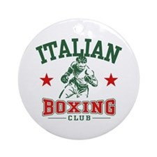 Italian Boxing Ornament (Round)