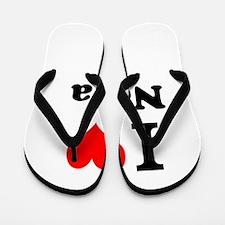 I Love Nora Flip Flops