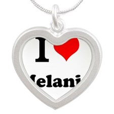 I Love Melanie Necklaces