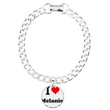I Love Melanie Bracelet