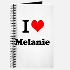I Love Melanie Journal