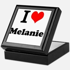 I Love Melanie Keepsake Box
