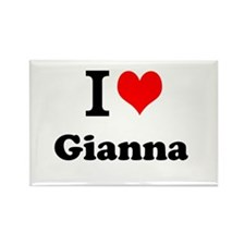 I Love Gianna Magnets