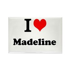 I Love Madeline Magnets