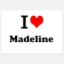 I Love Madeline Invitations