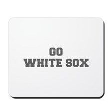 WHITE SOX-Fre gray Mousepad