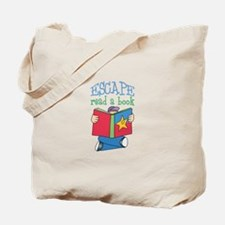 ESCAPE READ A BOOK Tote Bag