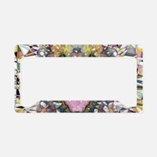 Rainbow Dog License Plate Holder