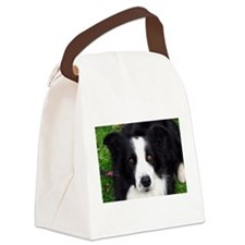 Sheep Dog Canvas Lunch Bag