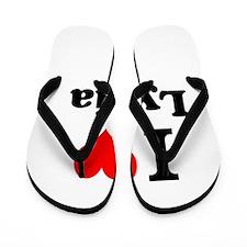 I Love Lydia Flip Flops