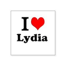 I Love Lydia Sticker