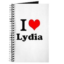 I Love Lydia Journal