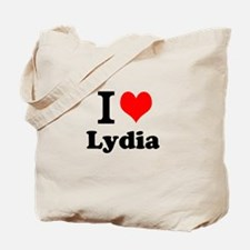 I Love Lydia Tote Bag