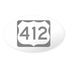 US Route 412 Decal