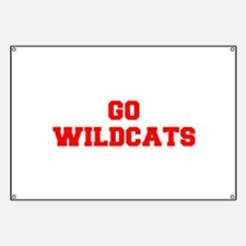 WILDCATS-Fre red Banner