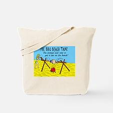 BBQ BEACH TAN HOTTEST NEW WAY Tote Bag