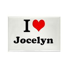 I Love Jocelyn Magnets