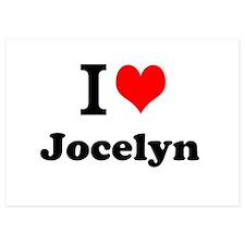 I Love Jocelyn Invitations