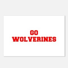WOLVERINES-Fre red Postcards (Package of 8)