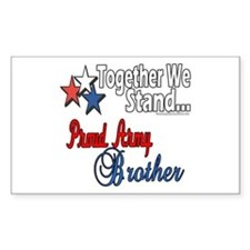 Army Brother Rectangle Decal