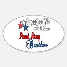 Army Brother Oval Decal