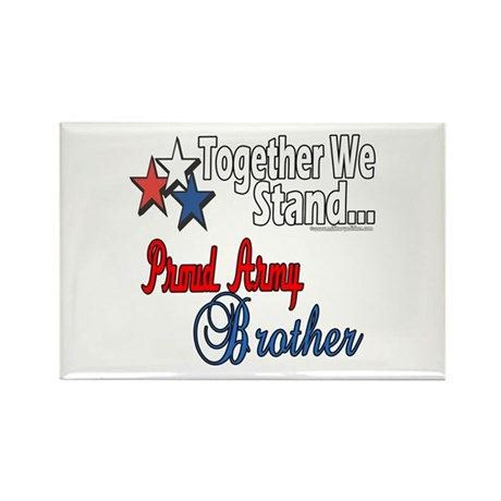 Army Brother Rectangle Magnet (10 pack)